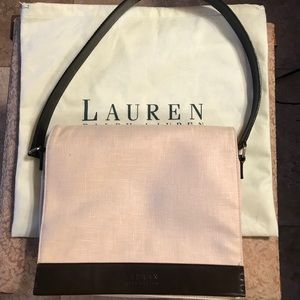 Ralph Lauren linen purse